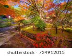 danrin ji temple hohokakudanrin ... | Shutterstock . vector #724912015
