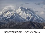 denali  mount mckinley  is the... | Shutterstock . vector #724992637
