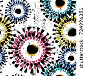 seamless background pattern ... | Shutterstock .eps vector #724996351