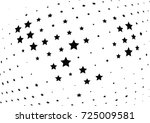 abstract halftone wave dotted... | Shutterstock .eps vector #725009581