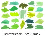 color highlight stripes ... | Shutterstock .eps vector #725020057