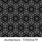 ornamental seamless pattern.  ... | Shutterstock . vector #725031679