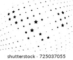abstract halftone wave dotted... | Shutterstock .eps vector #725037055