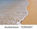 Ocean surf - stock photo
