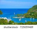 Marigot Bay  Saint Lucia ...