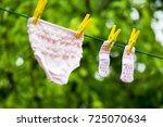 Children's Panties Dry Up
