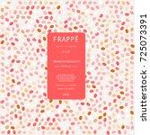 spring polka dot easter... | Shutterstock .eps vector #725073391