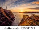 baltimore beacon  west cork ...   Shutterstock . vector #725085271