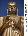 the giant buddha statue in... | Shutterstock . vector #725100799