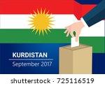kurdistan democracy political...   Shutterstock .eps vector #725116519