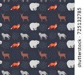 seamless hand drawn pattern...   Shutterstock .eps vector #725132785