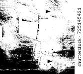 grunge black and white urban... | Shutterstock .eps vector #725145421