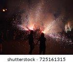 fireworks | Shutterstock . vector #725161315