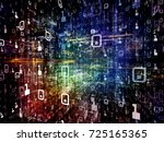 digital city series. creative...   Shutterstock . vector #725165365