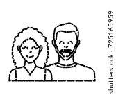 couple of friends   Shutterstock .eps vector #725165959