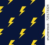 thunder pattern. thunder icon....   Shutterstock .eps vector #725173324