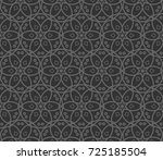 abstract repeat backdrop.... | Shutterstock . vector #725185504