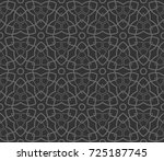 abstract repeat backdrop.... | Shutterstock . vector #725187745