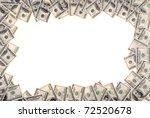 Frame Made From Dollar Bills...