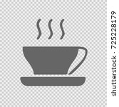 cup of coffee vector icon eps... | Shutterstock .eps vector #725228179