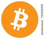 vector illustration bitcoin... | Shutterstock .eps vector #725230555