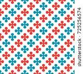 abstract geometric seamless... | Shutterstock . vector #725256574