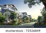 3d building landscape | Shutterstock . vector #72526849