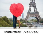 the couple hidden with red... | Shutterstock . vector #725270527