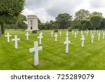 american world war one cemetery ... | Shutterstock . vector #725289079
