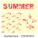 yellow wallpaper  t shirt print ... | Shutterstock . vector #725295451