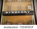 milan  italy   september 24 ... | Shutterstock . vector #725305519