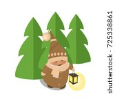 gnome vector illustration...   Shutterstock .eps vector #725338861