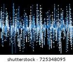 generative random square line... | Shutterstock .eps vector #725348095
