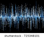 generative random square line...   Shutterstock .eps vector #725348101