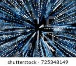 generative random radial square ... | Shutterstock .eps vector #725348149