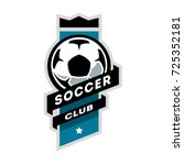soccer club logo | Shutterstock .eps vector #725352181