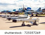 zhukovsky  russia 16 june 2017  ... | Shutterstock . vector #725357269