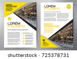 business brochure. flyer design....   Shutterstock .eps vector #725378731