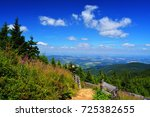 beskydy mountains at east... | Shutterstock . vector #725382655