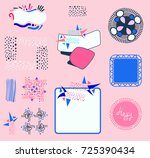 cute design elements | Shutterstock .eps vector #725390434