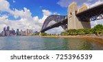 panorama of sydney harbour...   Shutterstock . vector #725396539