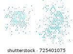 light blue vector abstract... | Shutterstock .eps vector #725401075