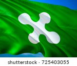 flag of lombardy. republic of... | Shutterstock . vector #725403055