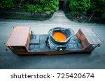 liquid steel truck | Shutterstock . vector #725420674