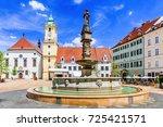bratislava  slovakia. view of...   Shutterstock . vector #725421571