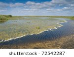 danube delta landscape in summer   Shutterstock . vector #72542287