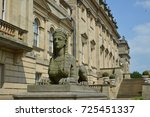 Sphinx in Harewood House, Leeds