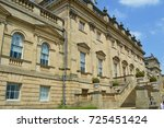 The back of Harewood House in Leeds