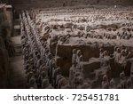 xian  china   may 11  2017  ...   Shutterstock . vector #725451781