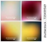 abstract creative concept... | Shutterstock .eps vector #725459569